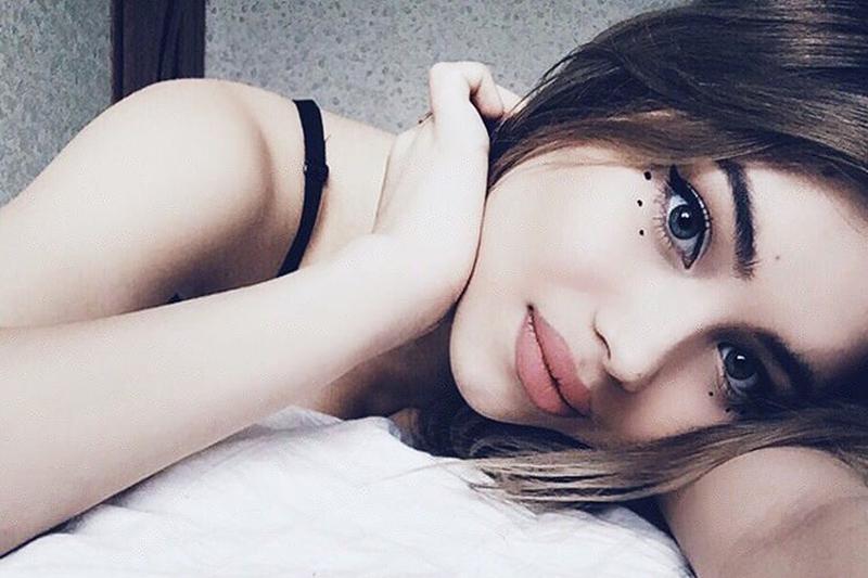 Ekaterina ragazza russa di Mosca