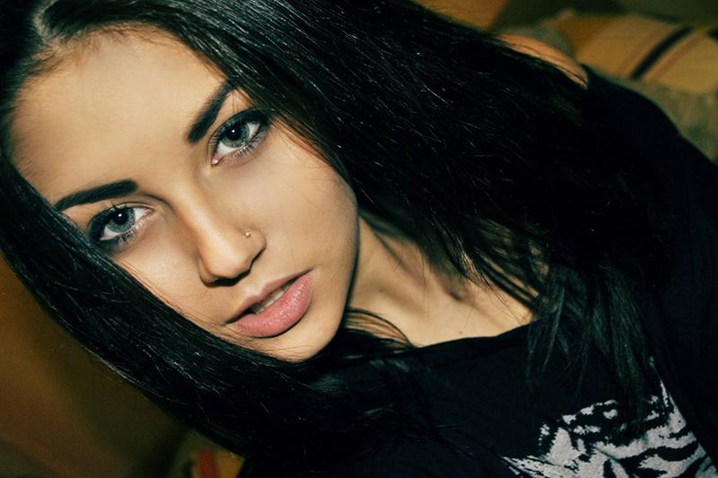 Albina ragazza russa di Roma
