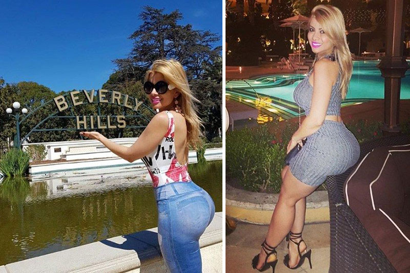 Daiana ragazza italo-brasiliana di Rio de Janeiro