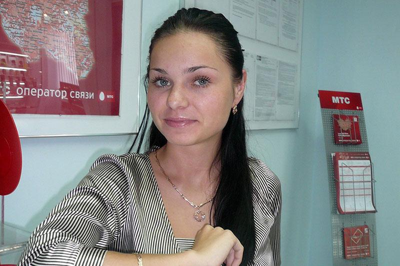 Anastasia ragazza italo-russa di Milano