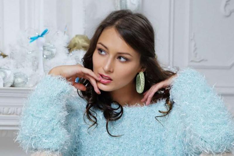 Yarina ragazza russa di Mosca
