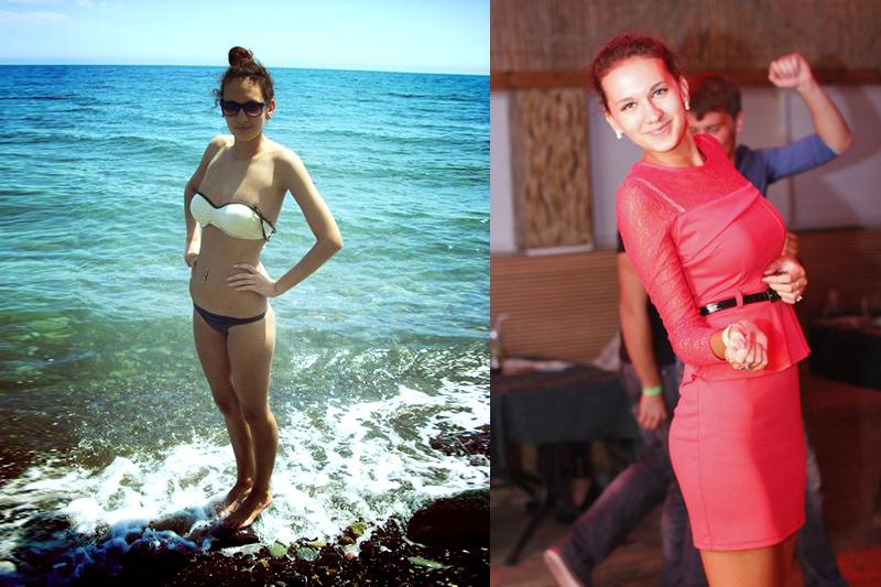 Natalia ragazza russa che ama andare al mare in perizoma
