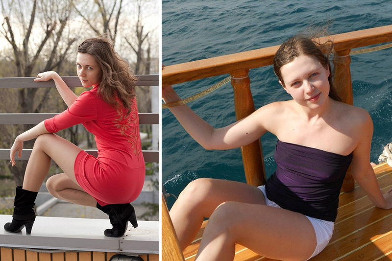 Marina ragazza russa di San Pietroburgo da poco a Milano