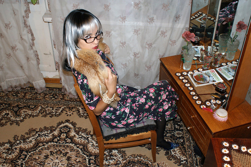 Adelaile ragazza di Mosca