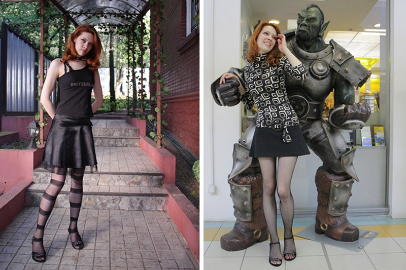 Aelita ragazza italo-russa di Mosca