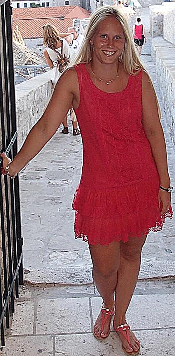 Michela ragazza di Genova