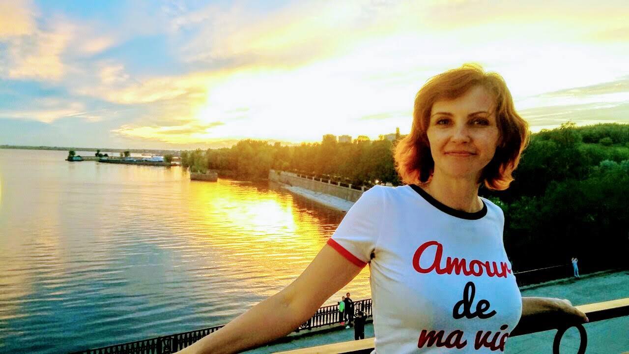 Victoria e il tramonto