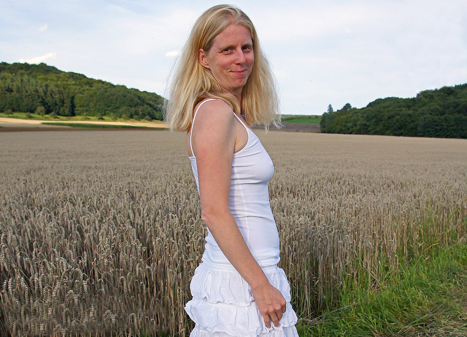 Angelika in campagna