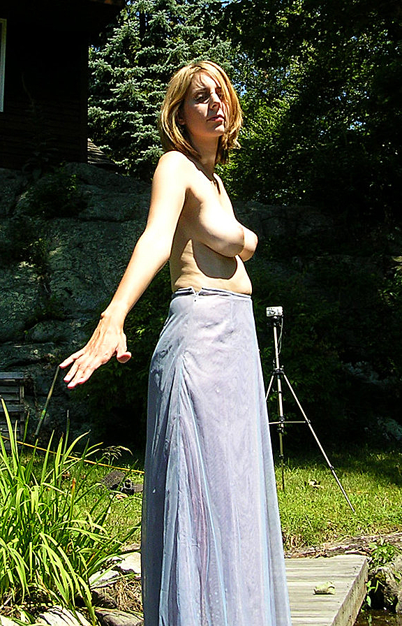 Marcella in topless