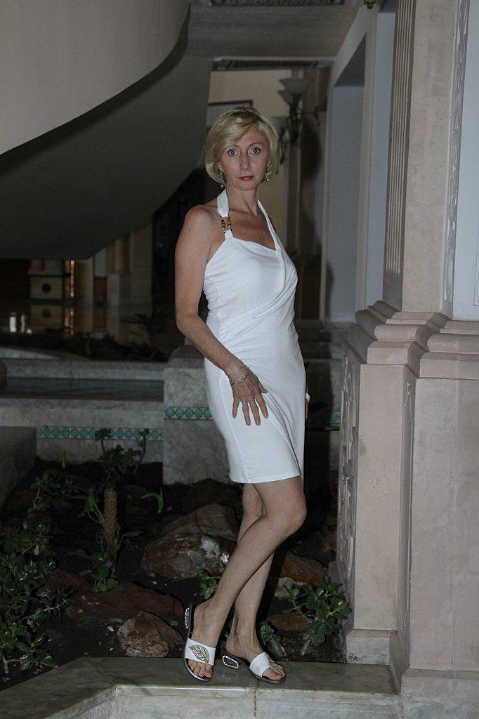 Marlena vestita da sera